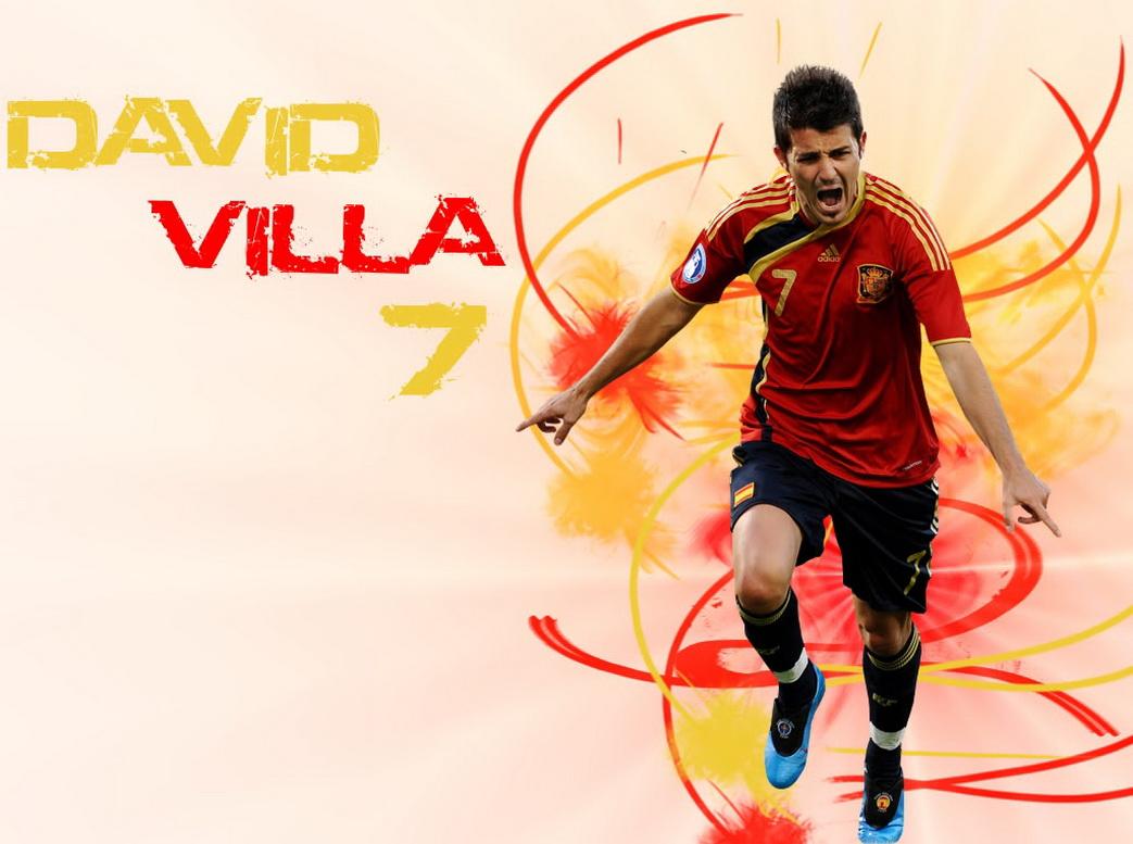 David Villa Cool Wallpapers 2012 1043x777