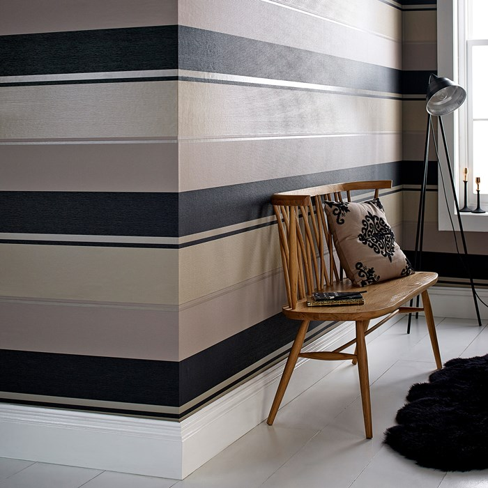 Spice black and gold Removable Wallpaper 700x700