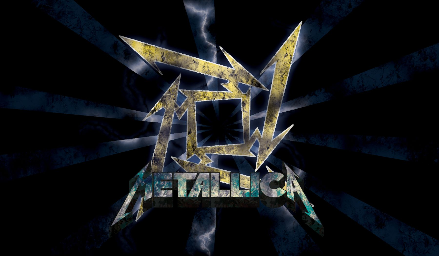 Metallica Logo Wallpaper  18   Metallicawallpapercom 1800x1050
