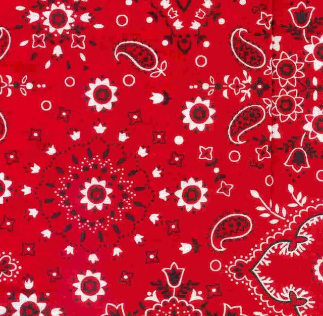 RED BANDANA Graphics Pictures Images for Myspace Layouts 640x625