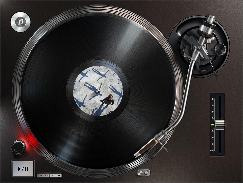 50 Music Wallpaper For Ipad On Wallpapersafari: Record Player Wallpaper