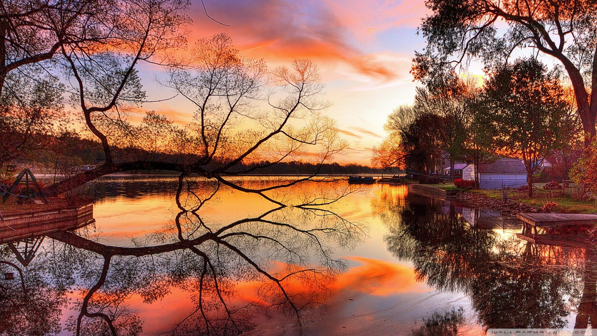 Pics Photos   Autumn Scenes Wallpaper Hd Download In 1920x1080