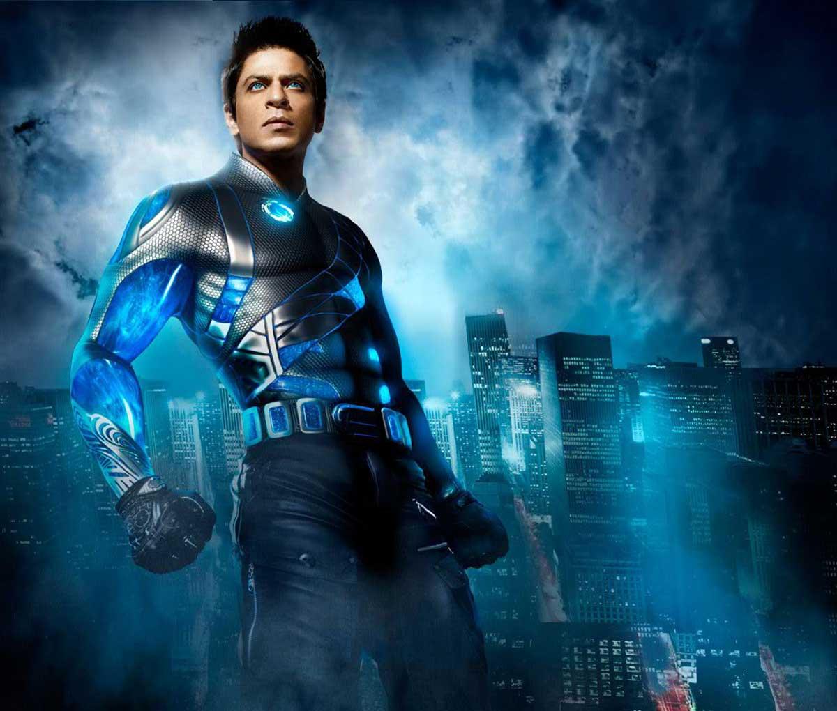 Super Hero Shahrukh Khan In Ra One Movie HD Desktop Wallpaperjpg 1200x1020