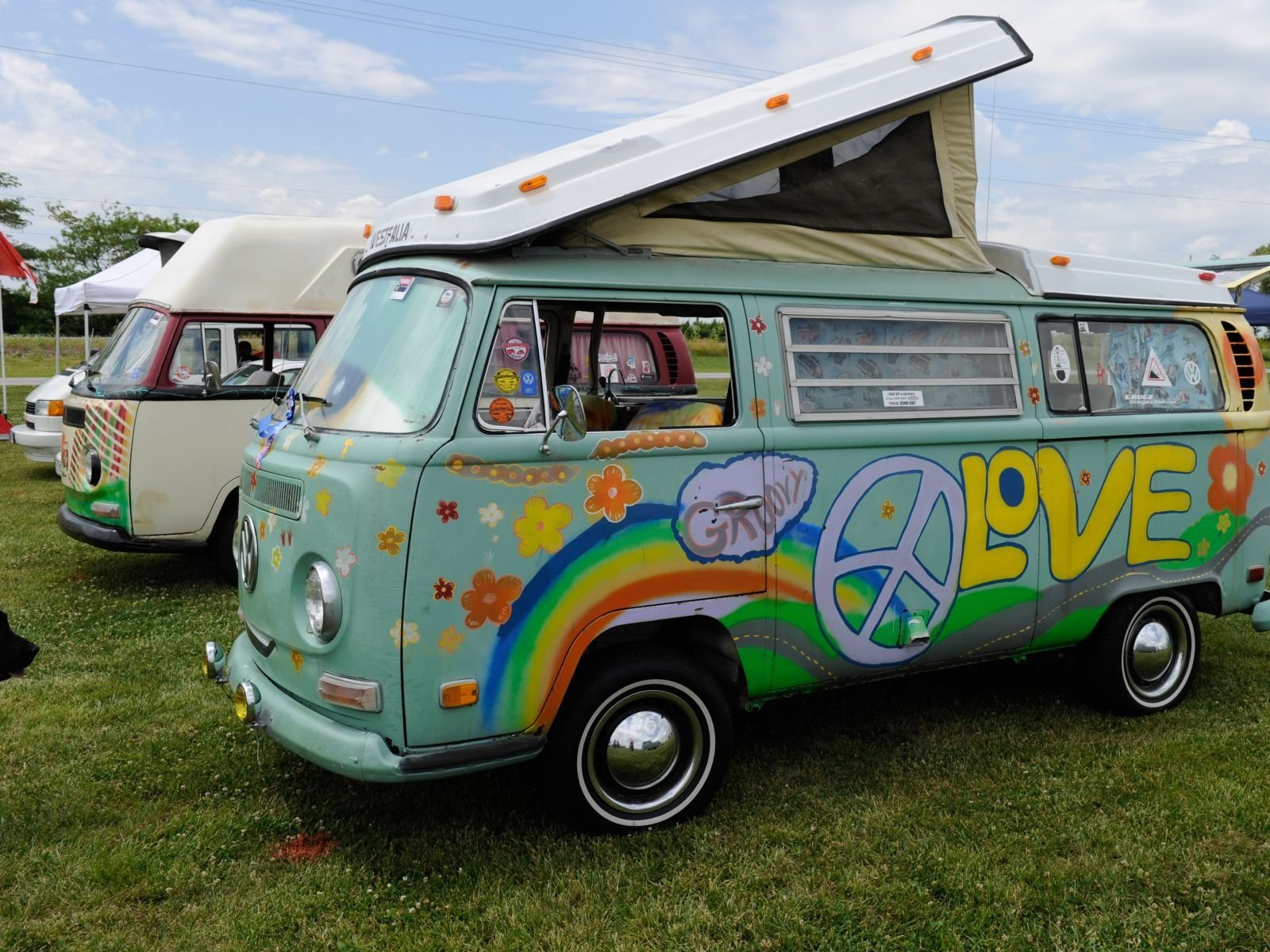 Funfest For Air Cooled Vwlove Peace Van Photo 9 1600x1200