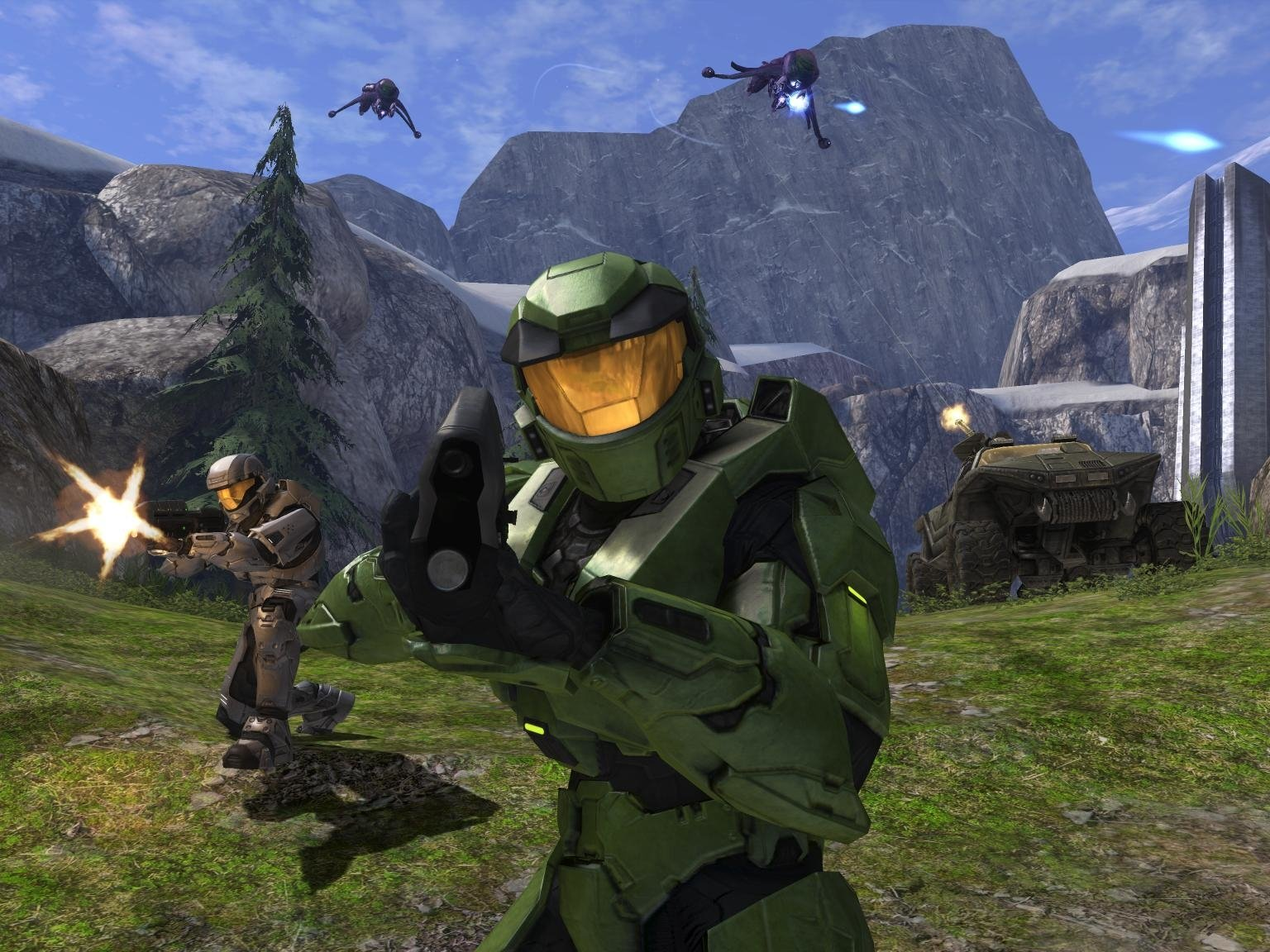 Halo Combat Evolved Wallpaper and Background Image 1536x1152 1536x1152