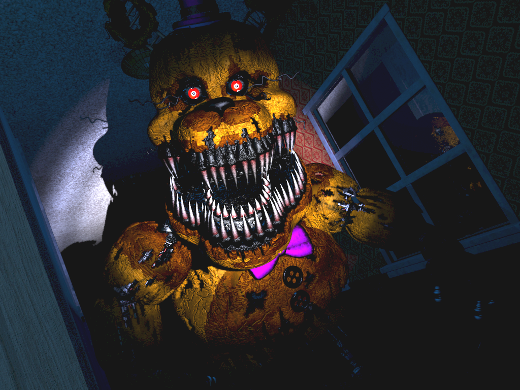 Free Download Five Nights At Freddys 4 Nightmare Fredbears By