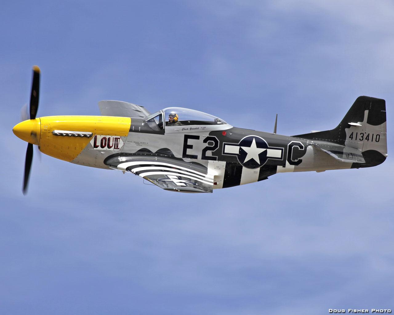 P51 MUSTANG LOU IV WALLPAPER   77887   HD Wallpapers 1280x1024