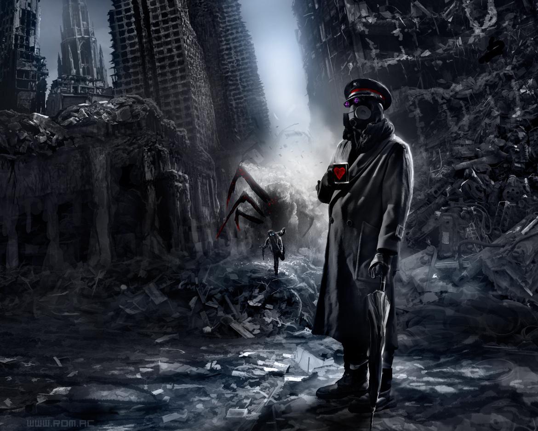 Destroyed City Background - WallpaperSafari
