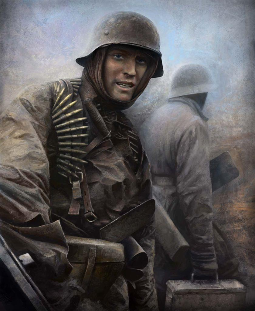 Waffen SS Soldier by vaipaBG 840x1024
