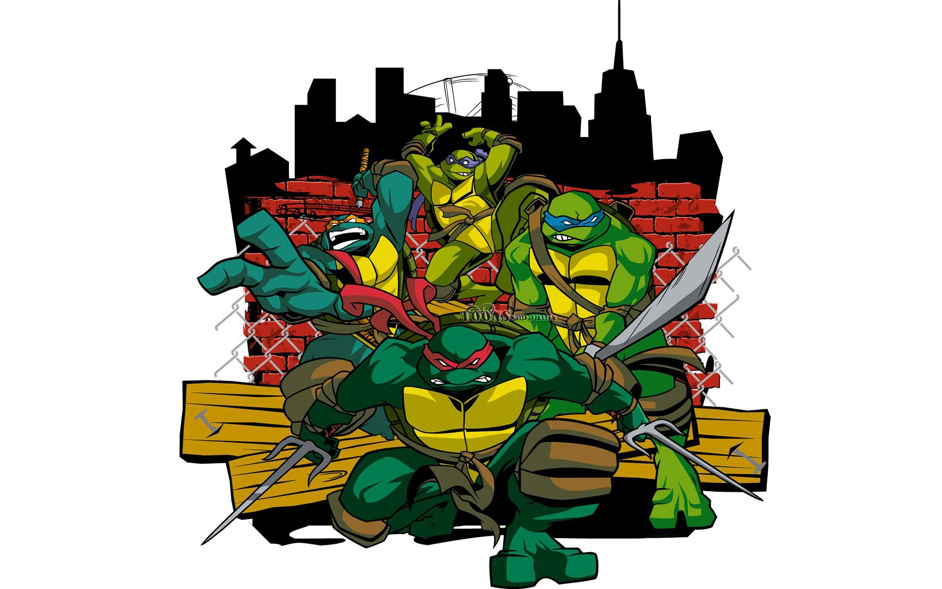 Free Download Desktop Ninja Turtles Hd Wallpapers 1920x1200