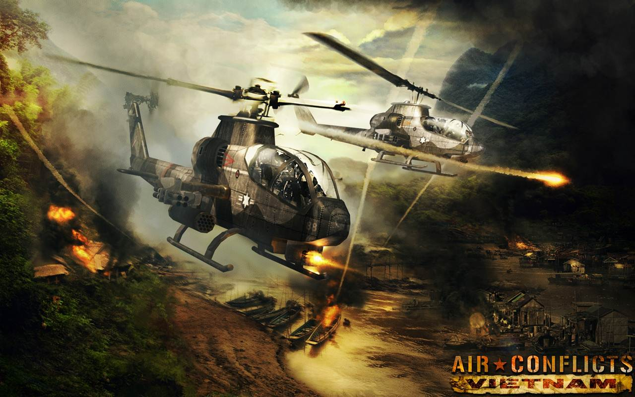 combat game Air Conflicts Vietnam Air Conflicts Vietnam will pit 1280x800