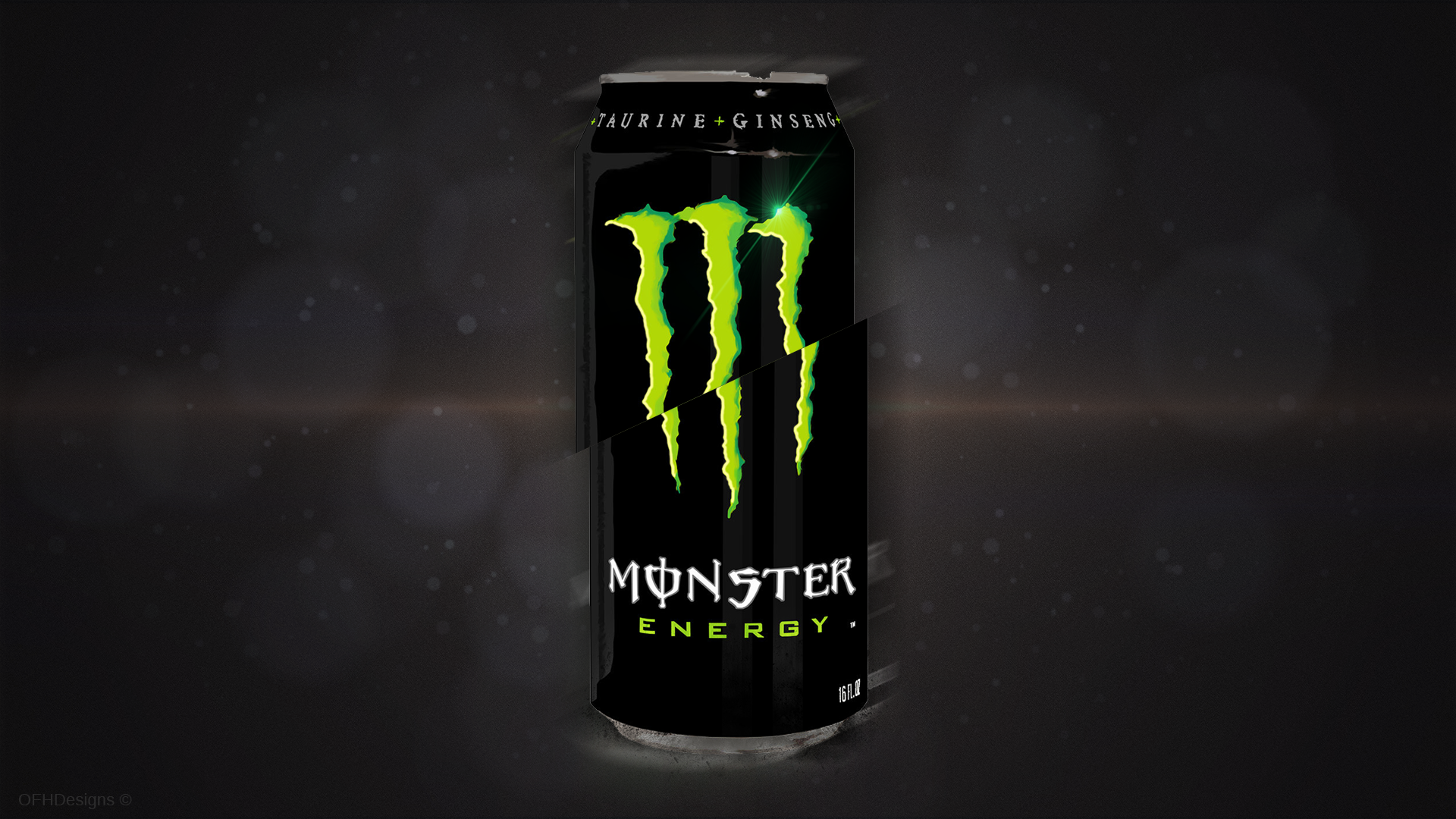 Monster Energy Drink Wallpaper by AztroGFX 1920x1080