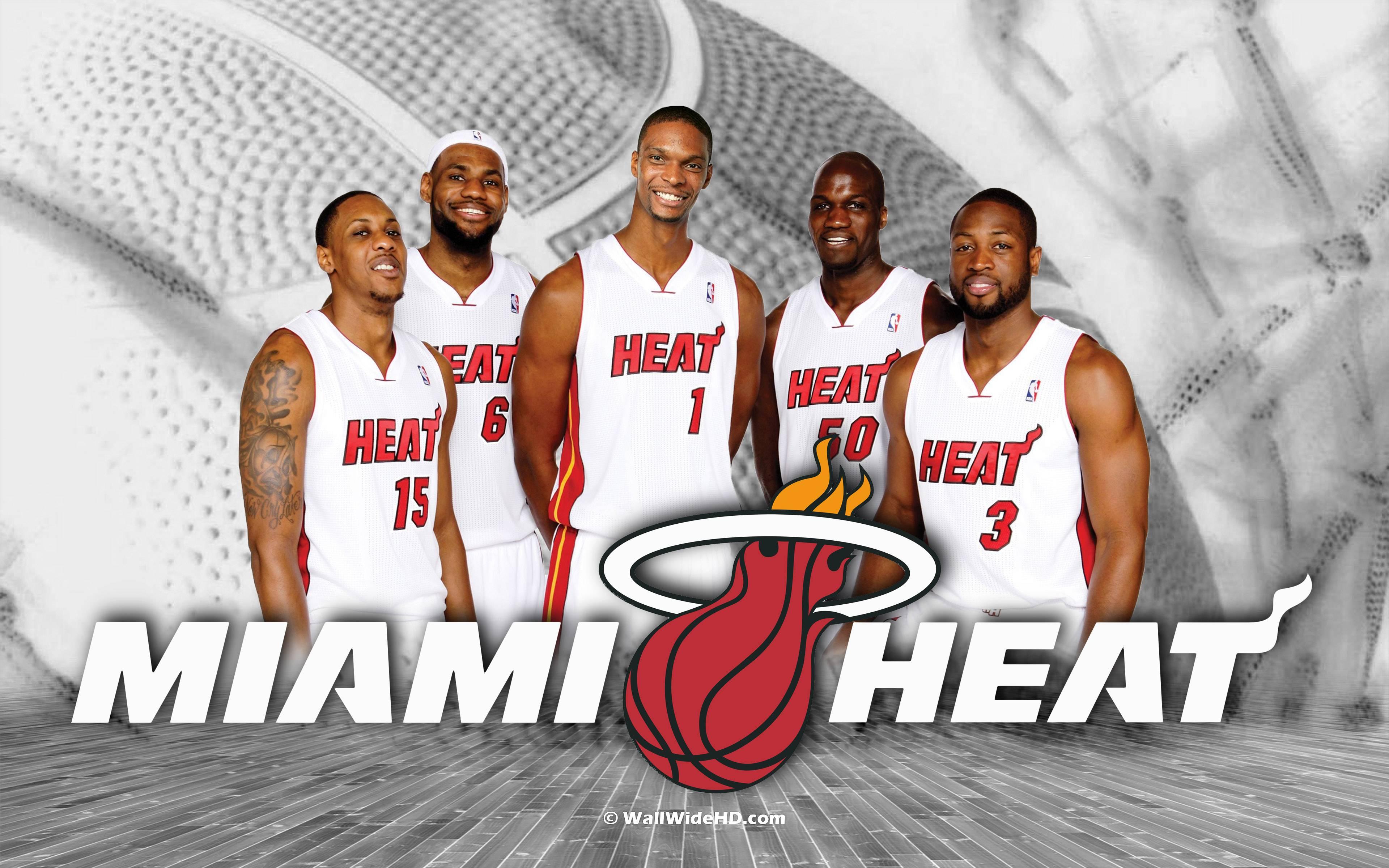 Miami Heat Logo Wallpapers 2015 3840x2400
