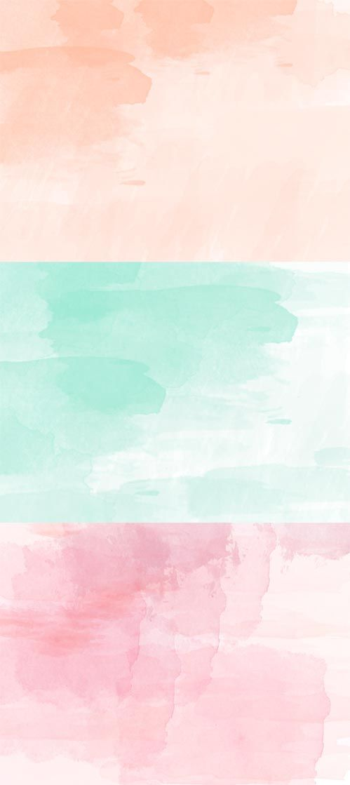 FREE WALLPAPER HELLO WATERCOLOR Graphics Watercolor 499x1119