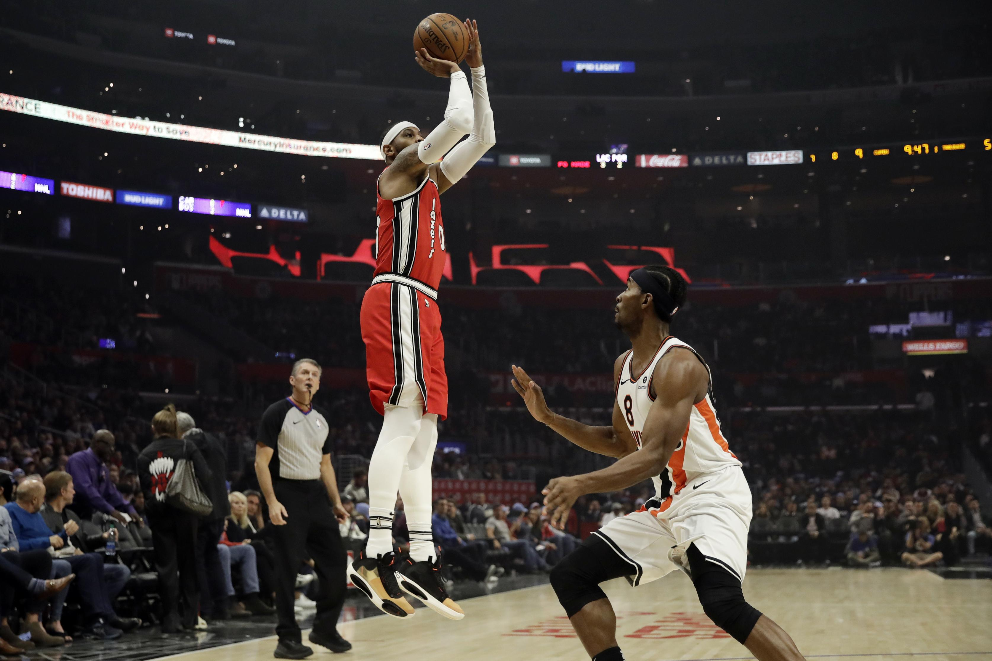 Blazers give Carmelo Anthony a guaranteed contract The Spokesman 3349x2233