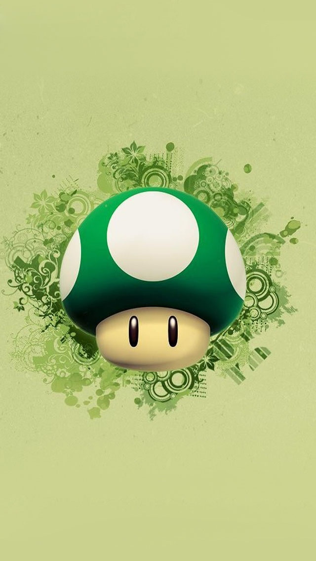 Cute Cartoon Super Mario iPhone 6 6 Plus and iPhone 54 Wallpapers 640x1136