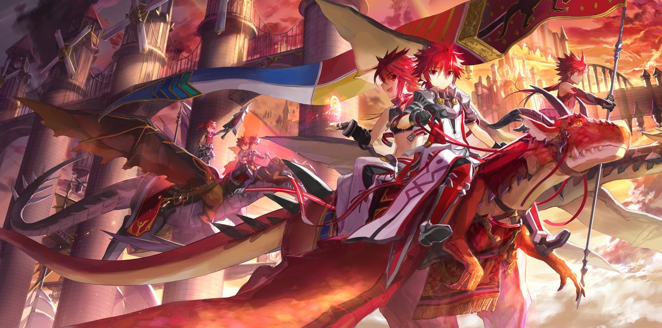 Infinity Sword Elsword   Elsword Character   Zerochan Anime 1356x671