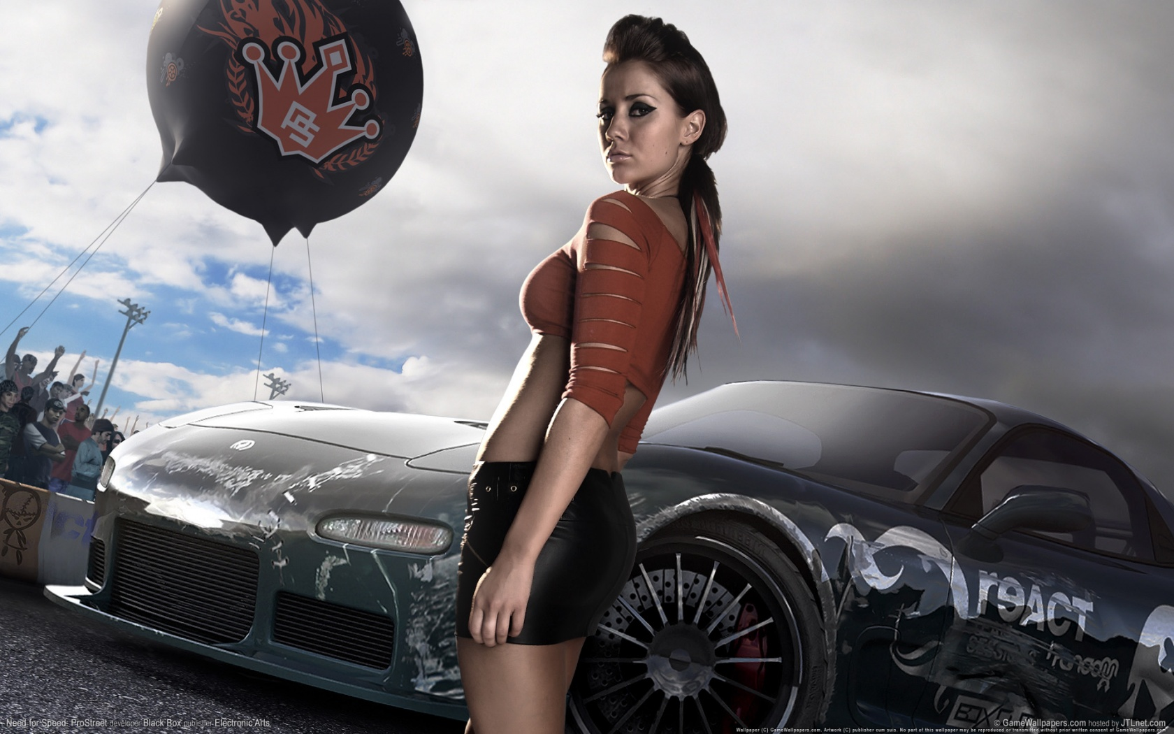 1680x1050 Need for Speed Pro Street desktop PC and Mac wallpaper 1680x1050