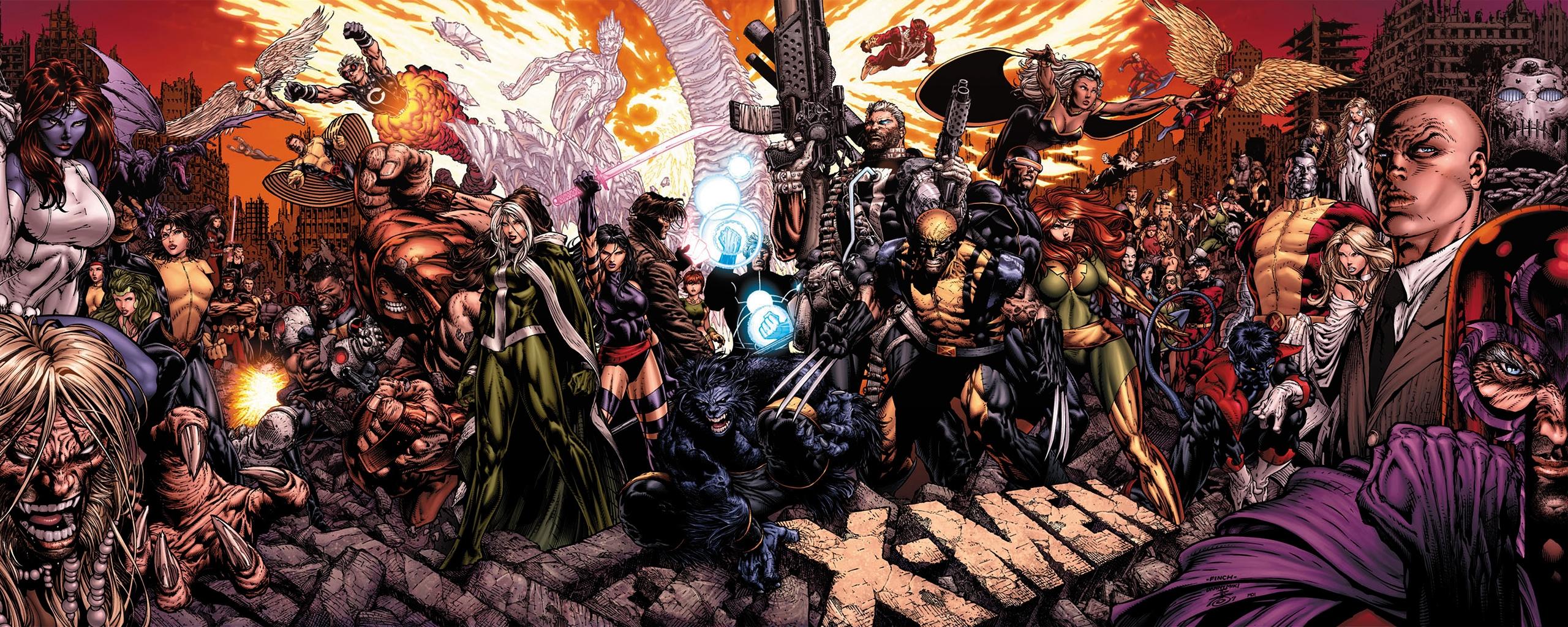 Download Comics X Men Wallpaper 2560x1024 Wallpoper 367748 2560x1024