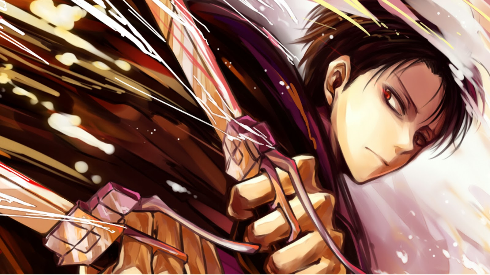 levi anime attack on titan shingeki no kyojin 1600x900 9l 1600x900