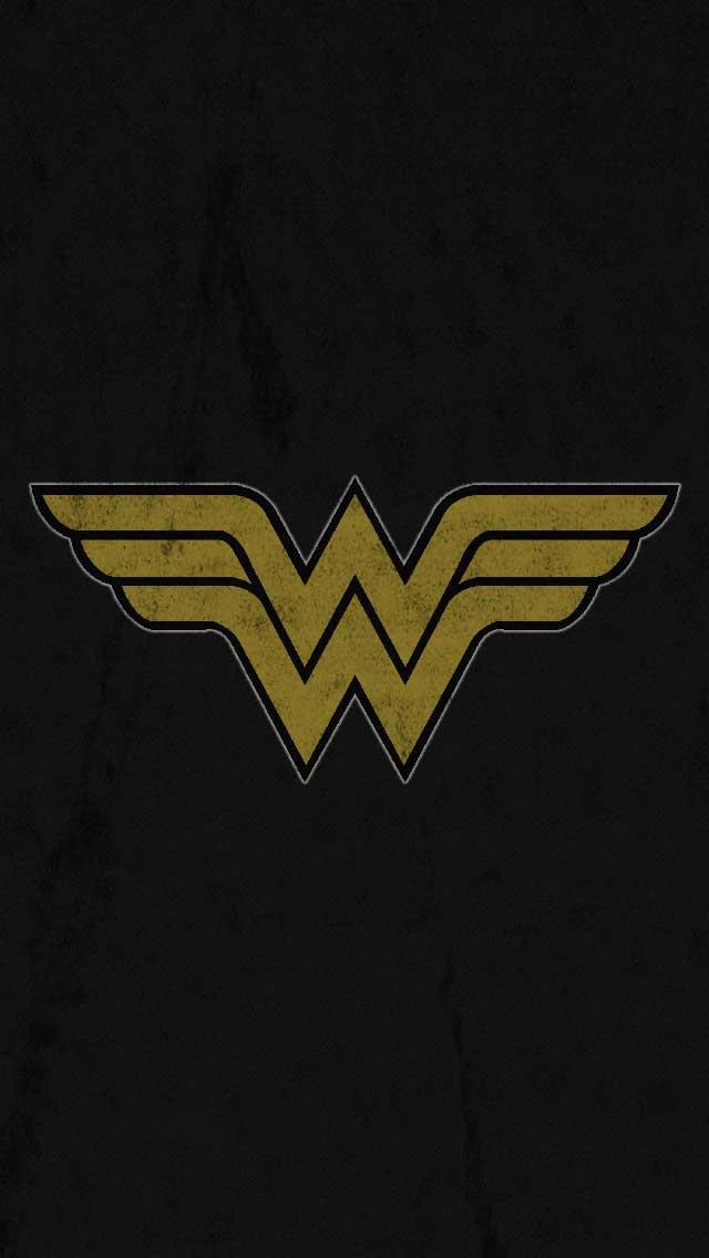 Wonder Woman iPhone 5 Wallpaper by vmitchell85 640x1136