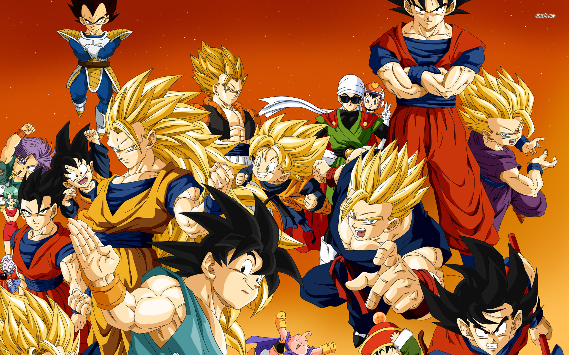 Fondos De Pantalla De Dragon Ball: Dragon Ball Z Wallpapers 1080p