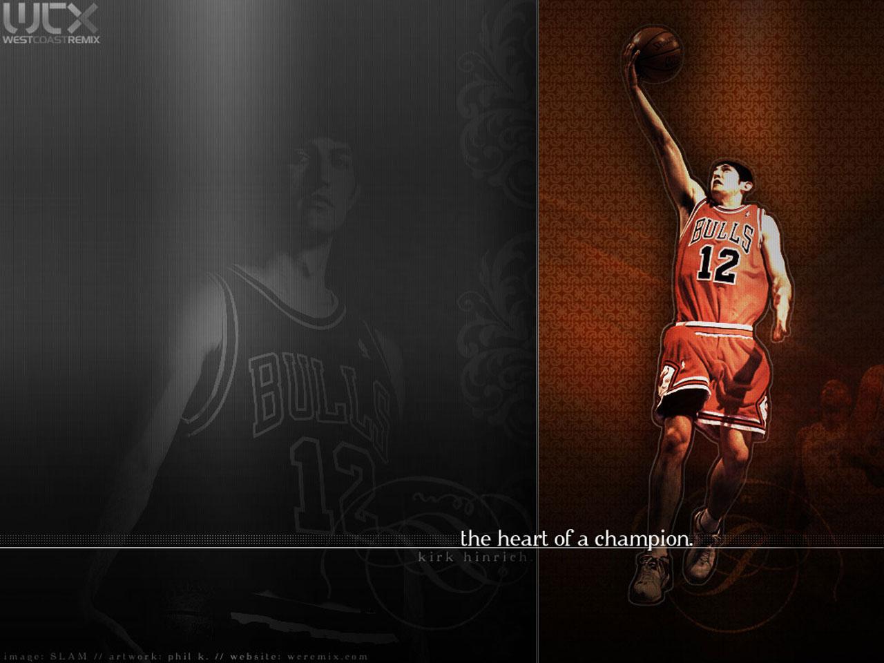 Kirk Hinrich Bulls Layup Wallpaper Basketball Wallpapers at 1280x960