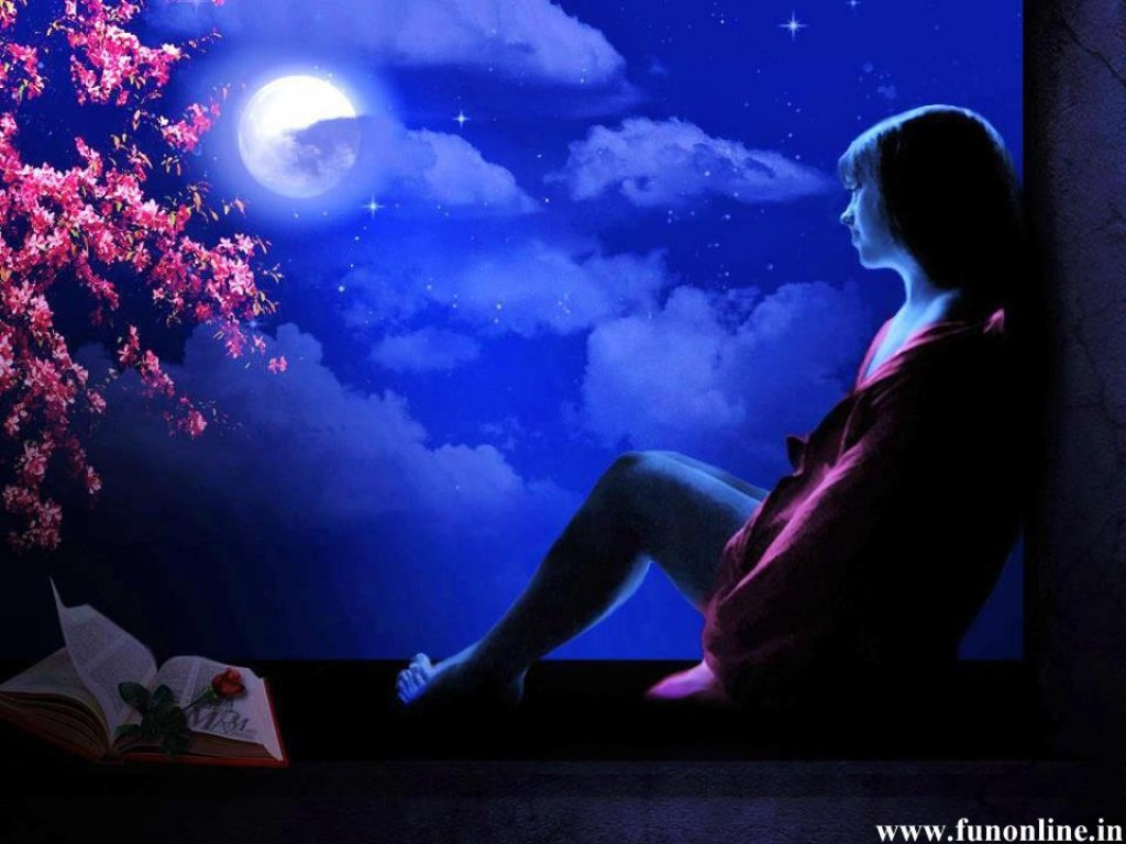 Wallpapers Pictures Photos Alone Alone Girls Pictures 1024x768