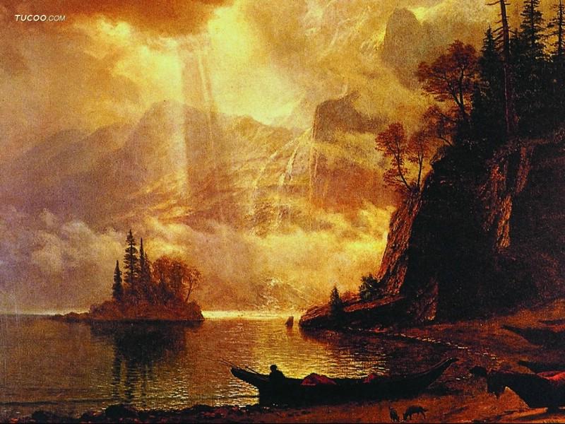Landscape Oil Painting 800x600