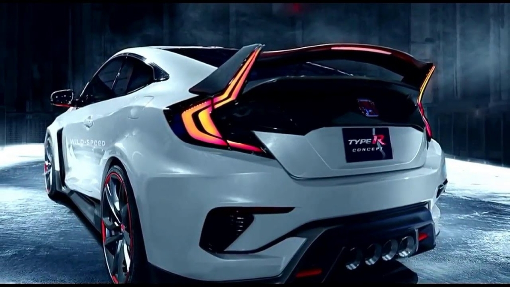 Honda Civic Type R 2017 Hd Wallpaper Background   HD Car 1024x576