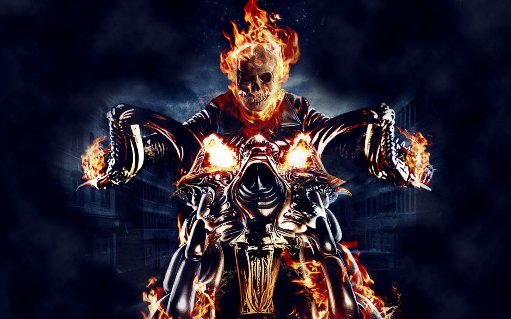 ghost rider motorcycle wallpaper   ForWallpapercom 1680x1050