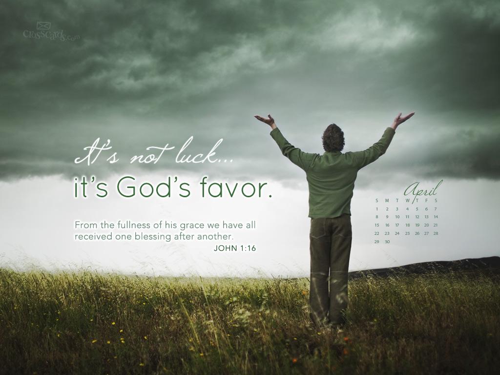 2012   Gods Favor Desktop Calendar  Monthly Calendars Wallpaper 1024x768