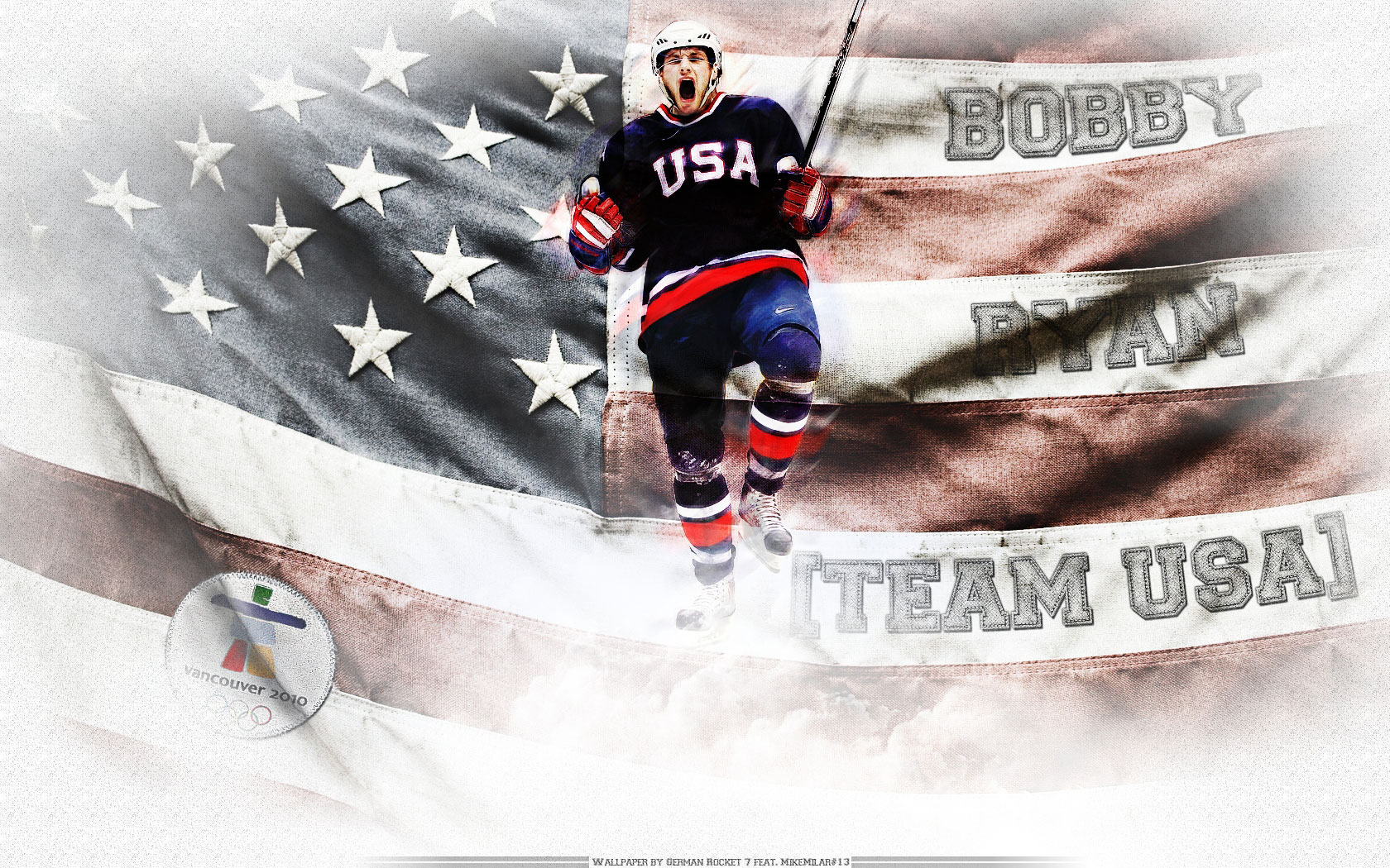 NHL Wallpapers   Bobby Ryan Team USA Widescreen wallpaper 1680x1050