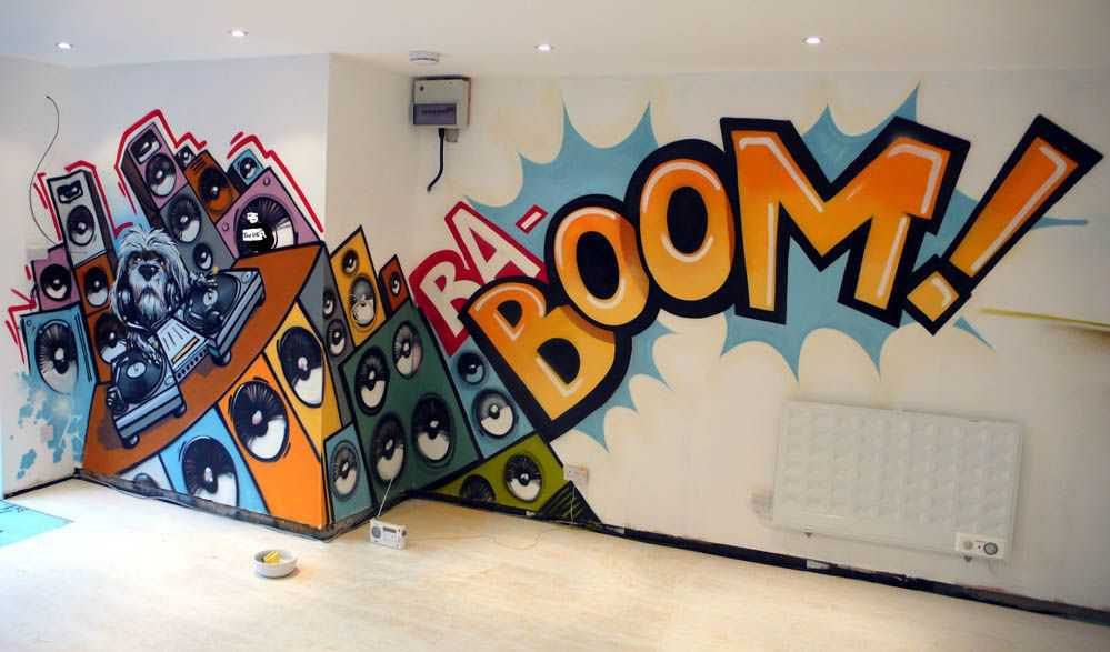 comBar Bat Mitzvah Graffiti Bedroom Graffiti Graffiti Wall Murals 999x587