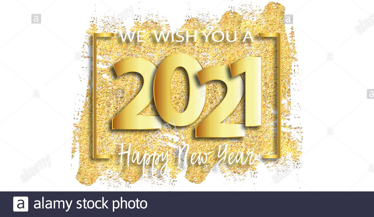 Happy New Year 2021 High Resolution Stock Photography and Images 1300x755