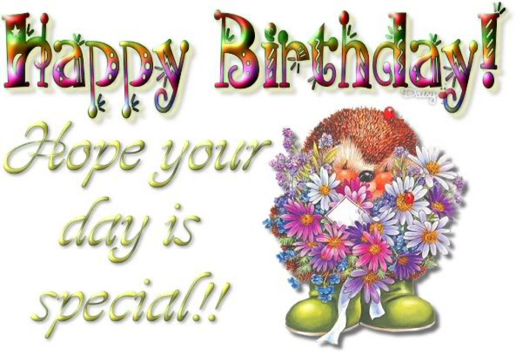 Animated Images Of Happy Birthday   Wallpaper HD Base 1024x702