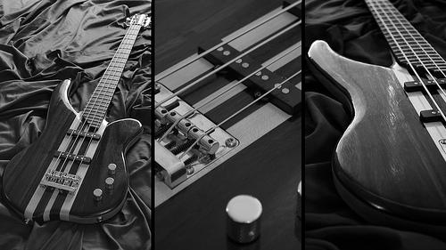 Bass Wallpaper 1 Custom electric bass guitar I made for my 500x281
