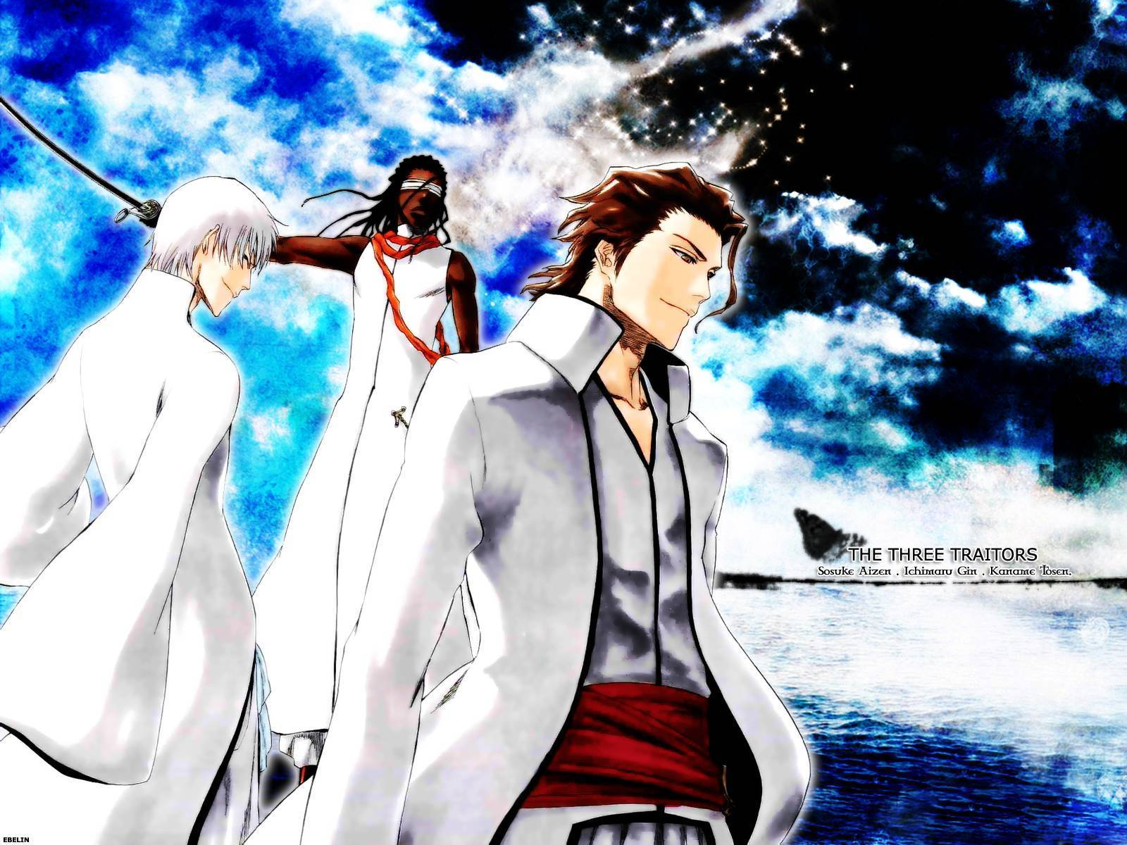 Download Sosuke Aizen Background 1600x1200