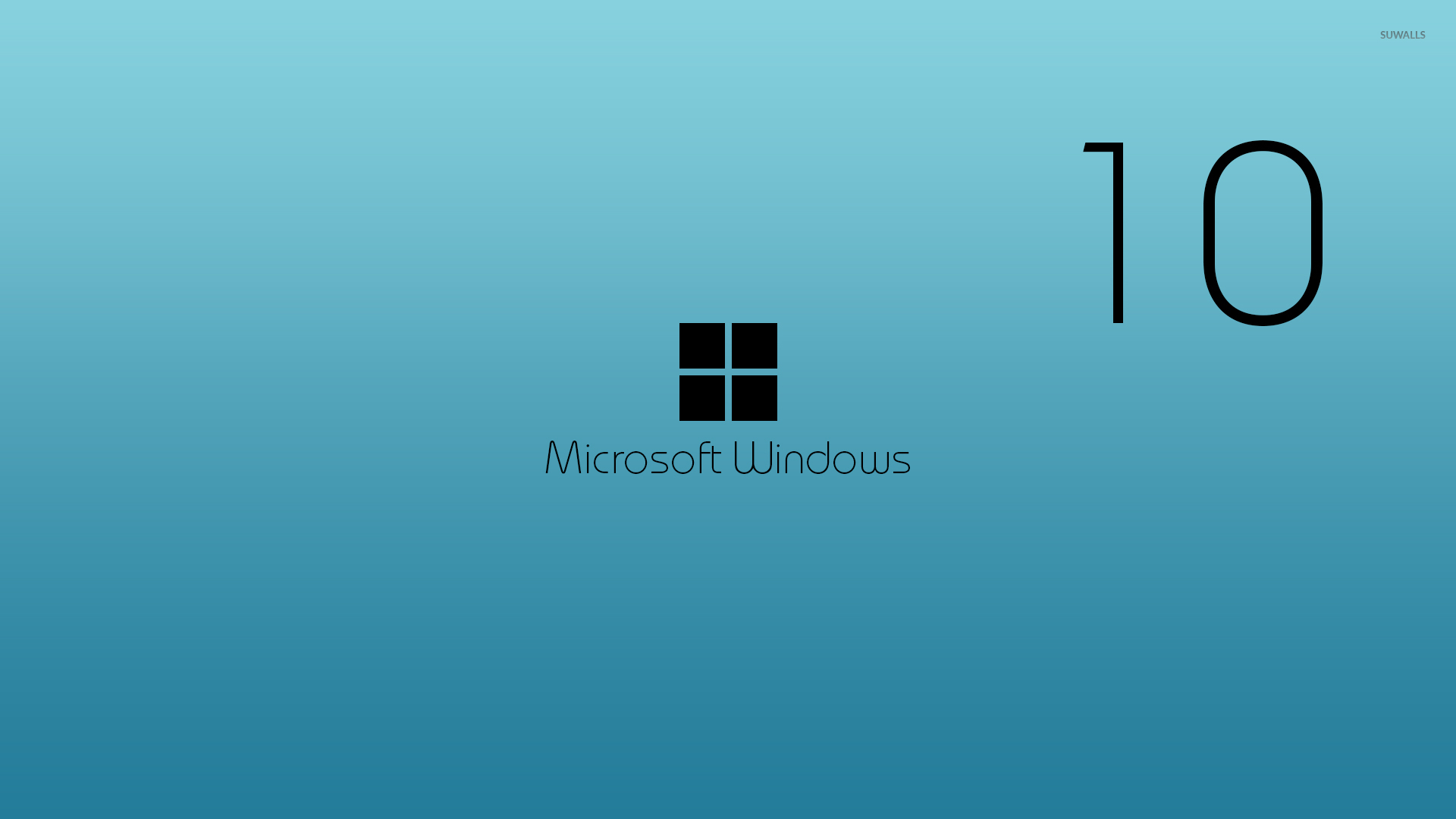 Black Windows 10 wallpaper - Computer wallpapers - #49873