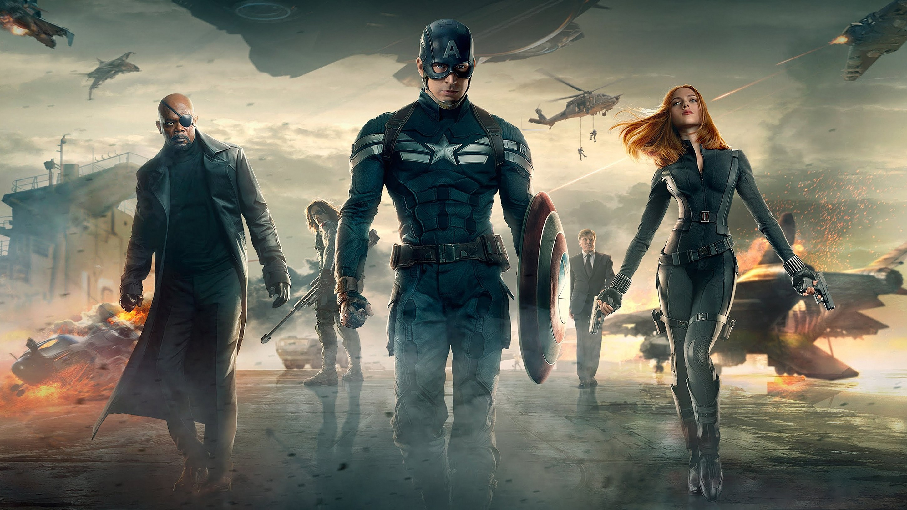 Captain America The Winter Soldier Wallpapers 81 background 2900x1631