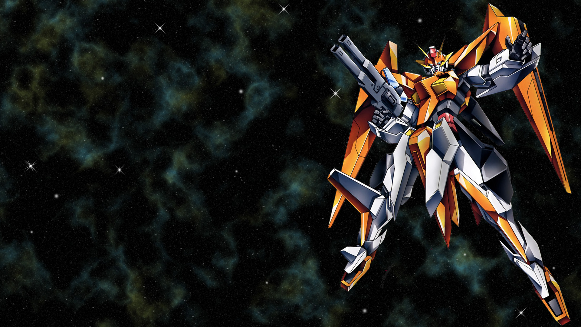 Cool Fire Gundam Anime Wallpapers HD 1920x1080