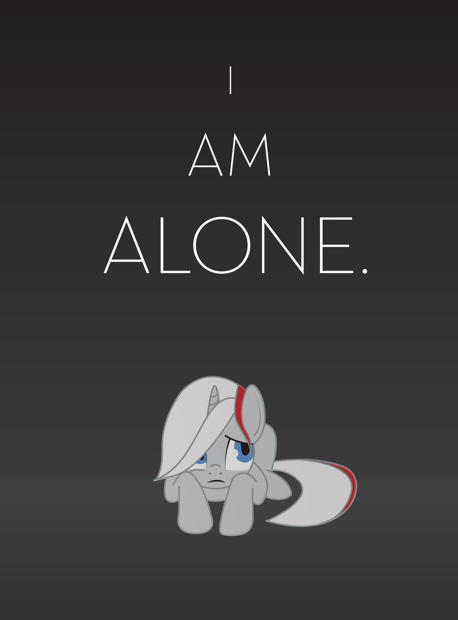 Alone Wallpaper I Am Im PelautsCom 900x1219
