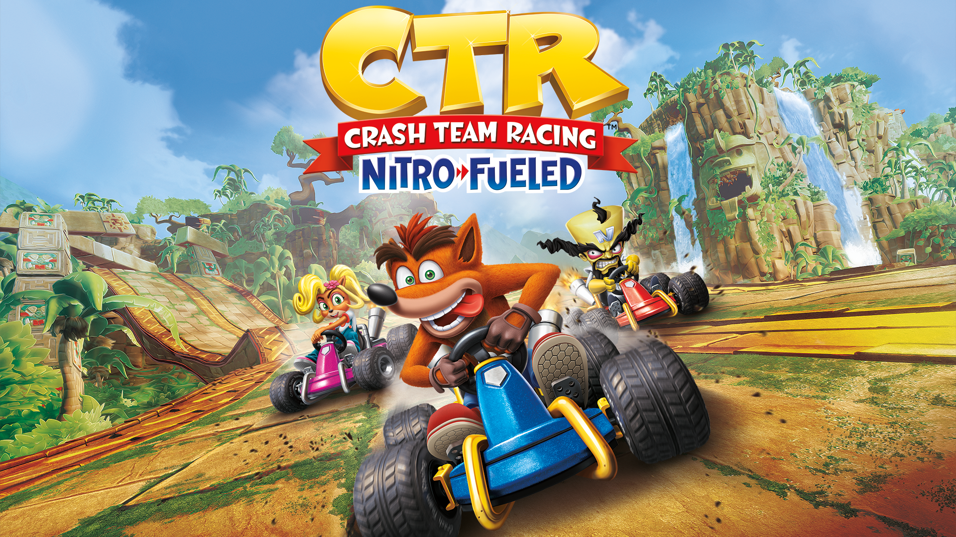 Crash Team Racing Nitro Fueled Game PS4   PlayStation 1920x1080