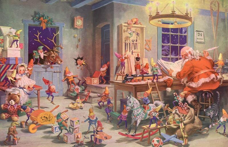 Victorian Christmas Postcards 800x516