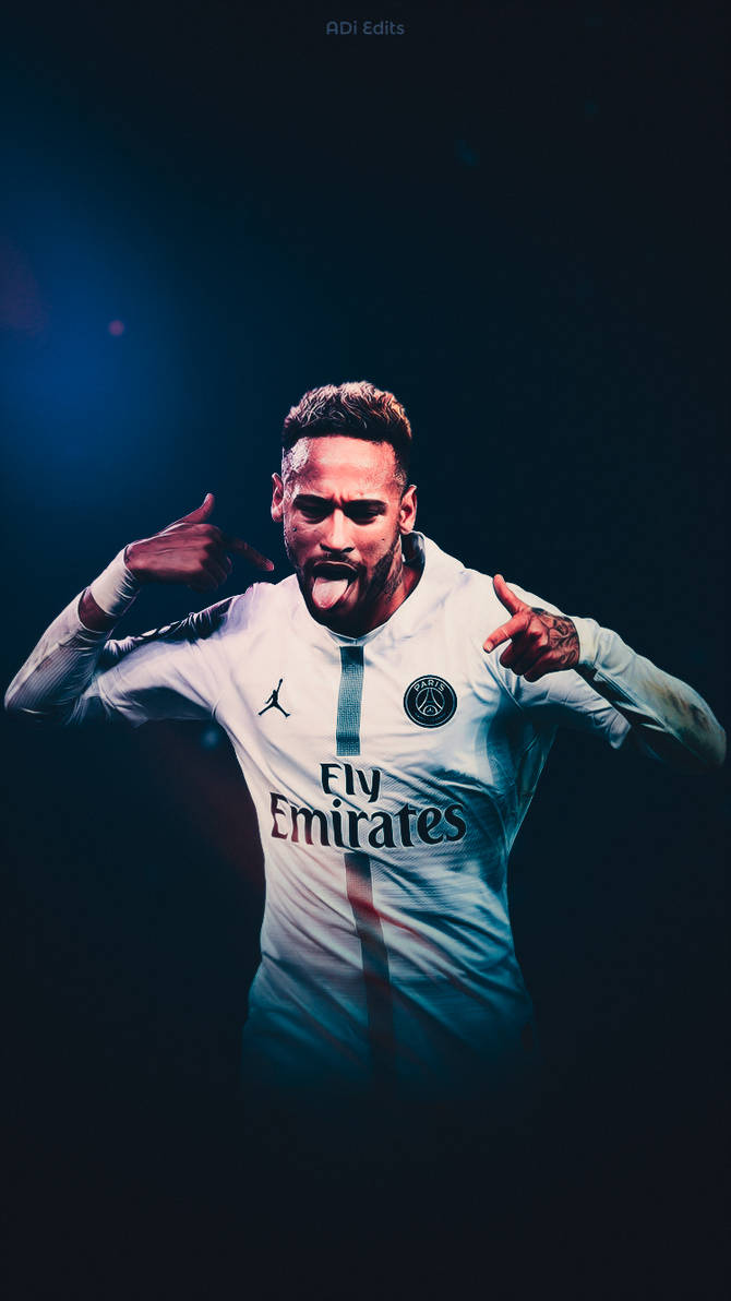 Neymar Jr PSG Wallpaper by adi 149 670x1192
