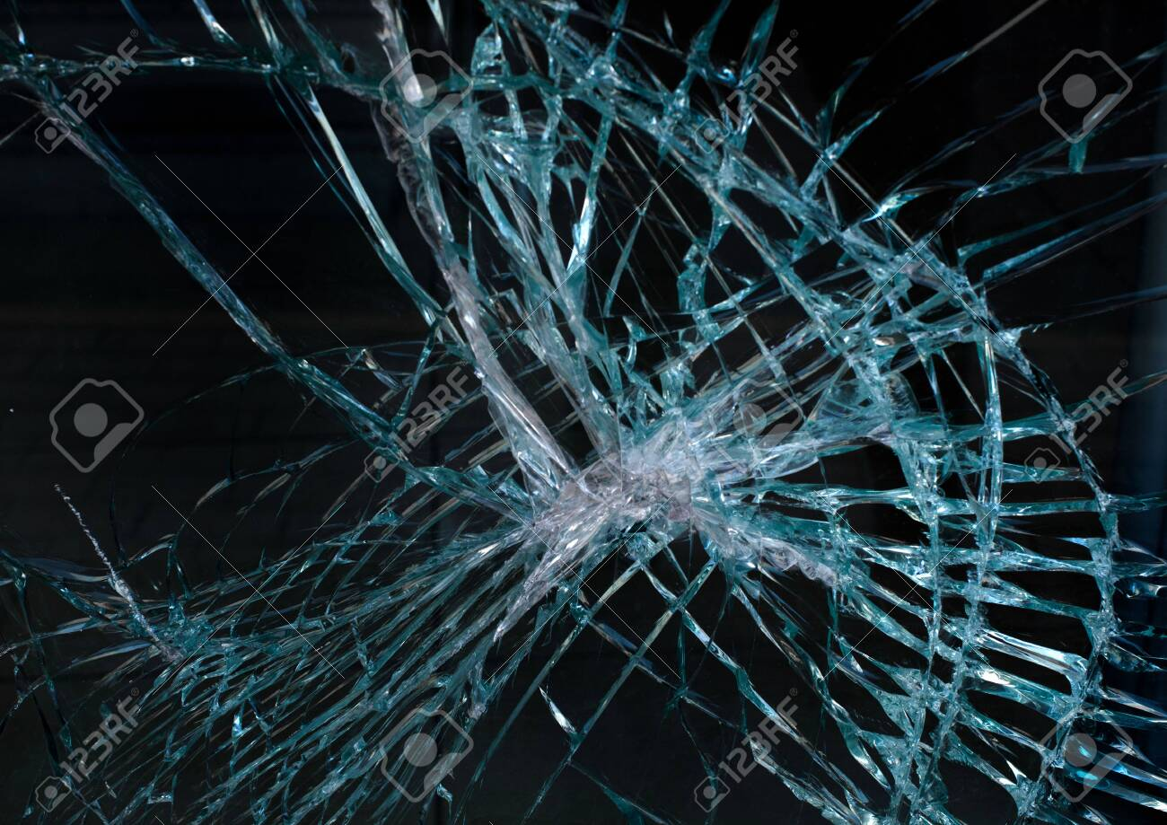 Glass Crash Texture Or Background Stock Photo Picture And 1300x919