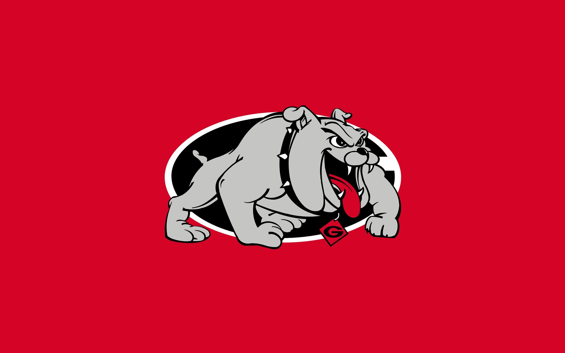 wallpaper details file name georgia bulldogs logo wallpaper uploaded 1920x1200