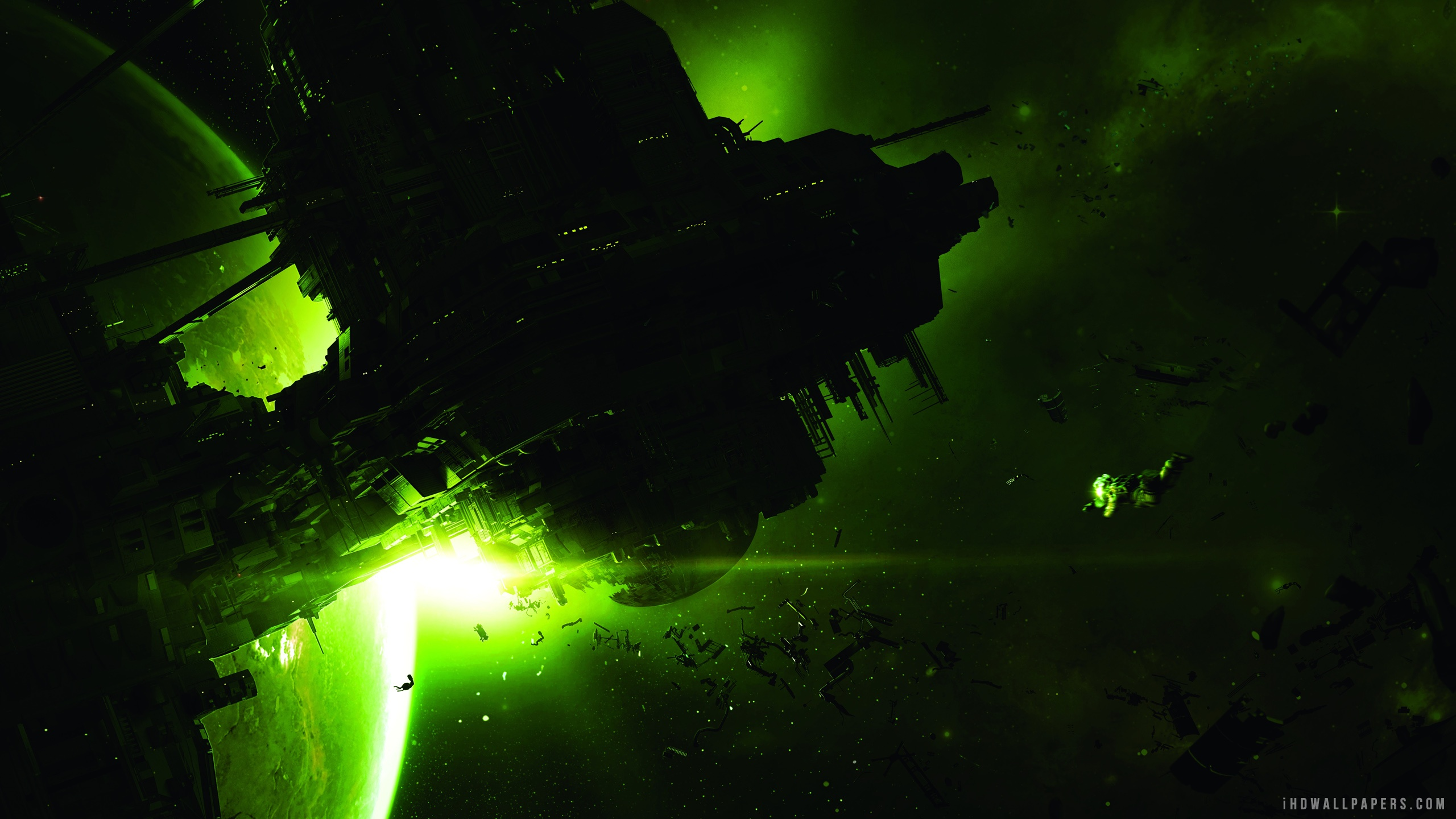 Alien Isolation Video Game wallpaper 2560x1440 2560x1440