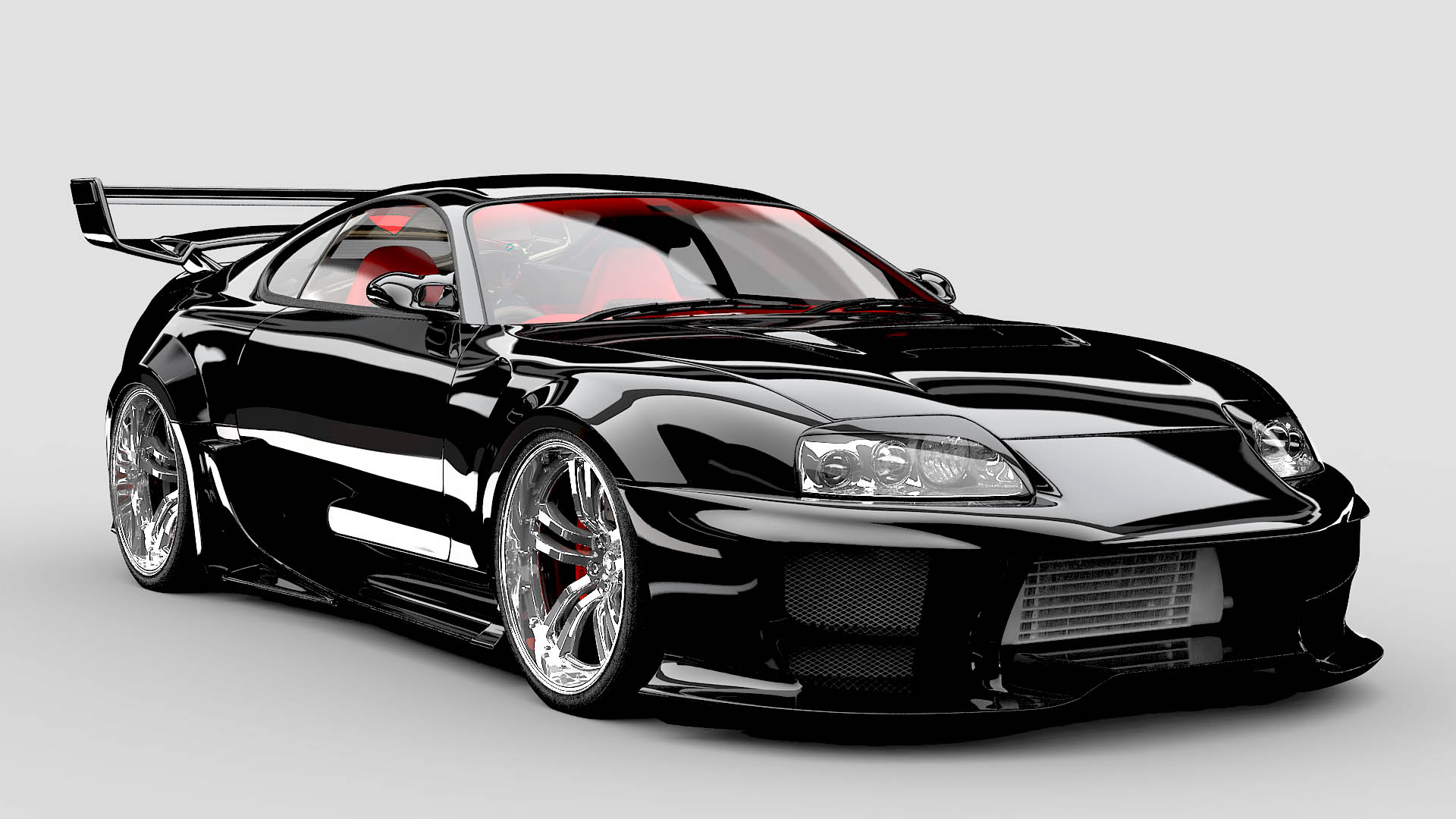 Toyota Supra Wallpaper 1920x1080: Custom Toyota Supra Wallpapers