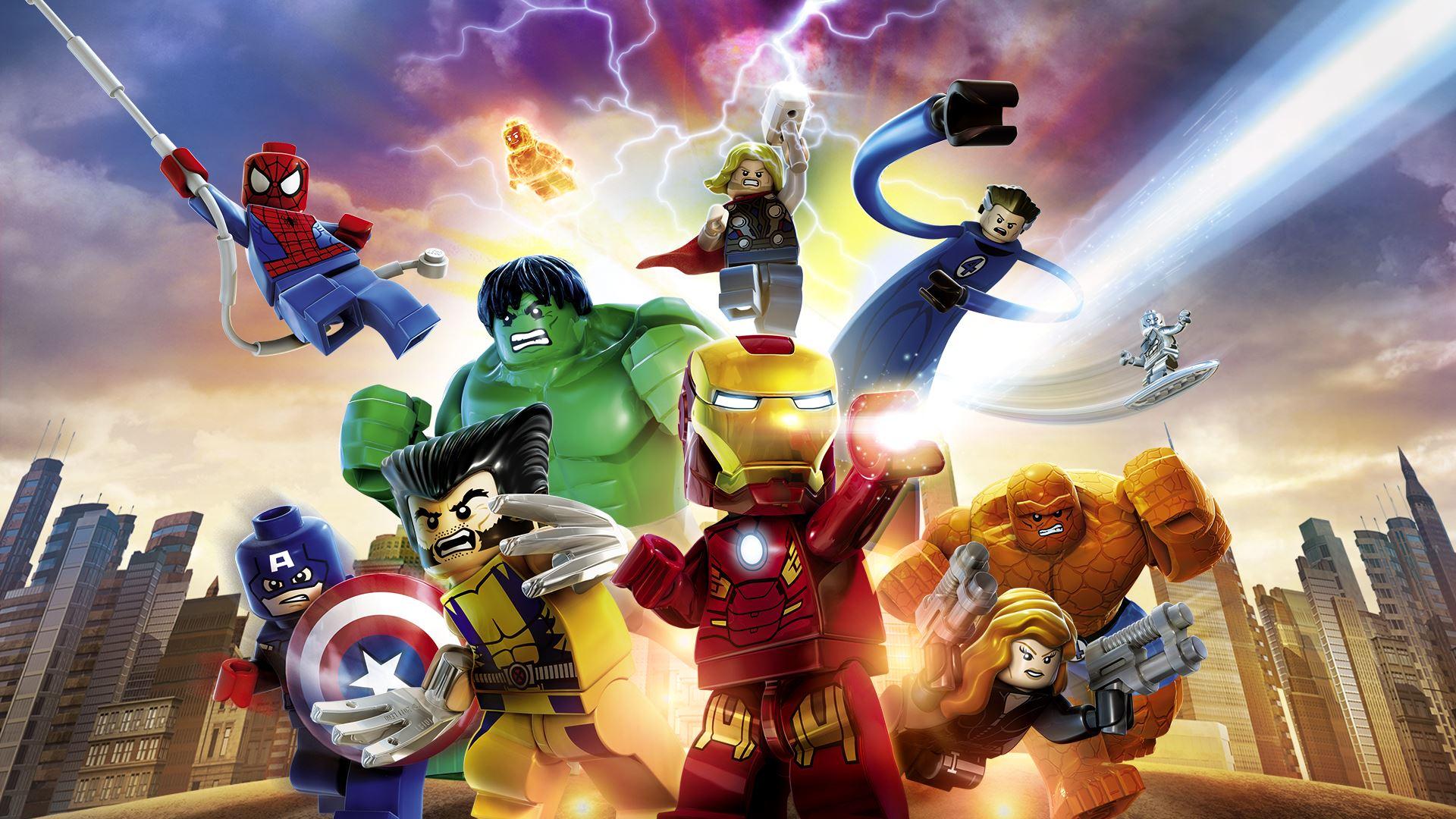 Coolest Marvel Superheroes LEGO Sets Geeks 1920x1080